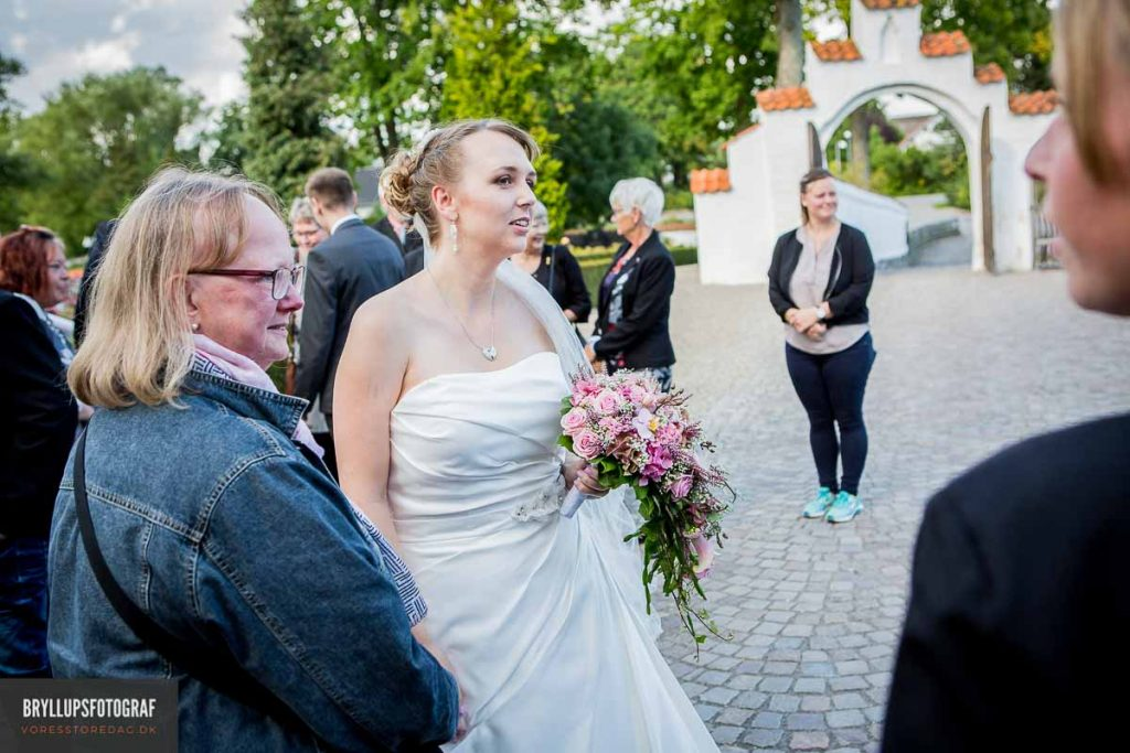 bruden ved greve kirken