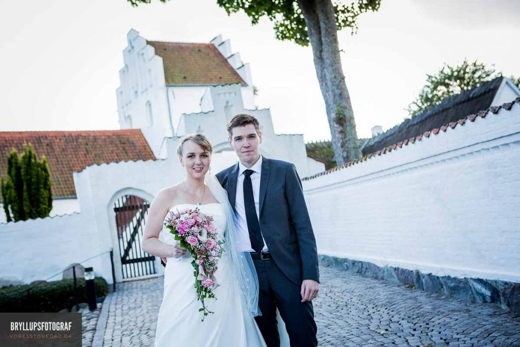 bryllupsportræt greve kirke