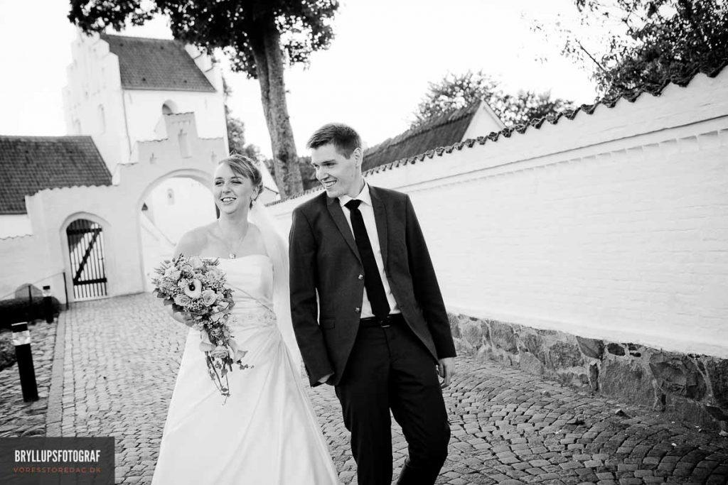 greve kirke brudeparret