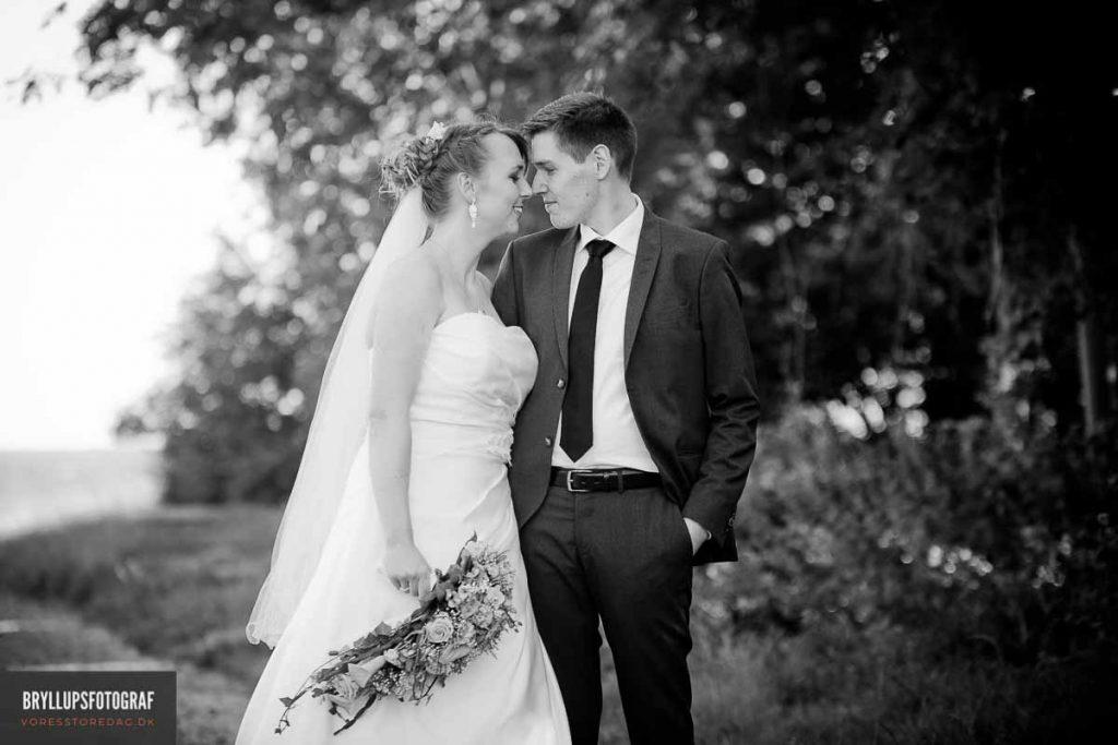 portræt bryllup greve strandkro