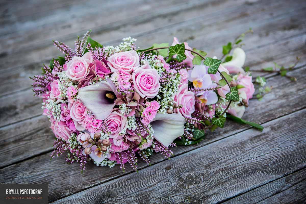 Romantiske & naturlige bryllupsbilleder sydjylland