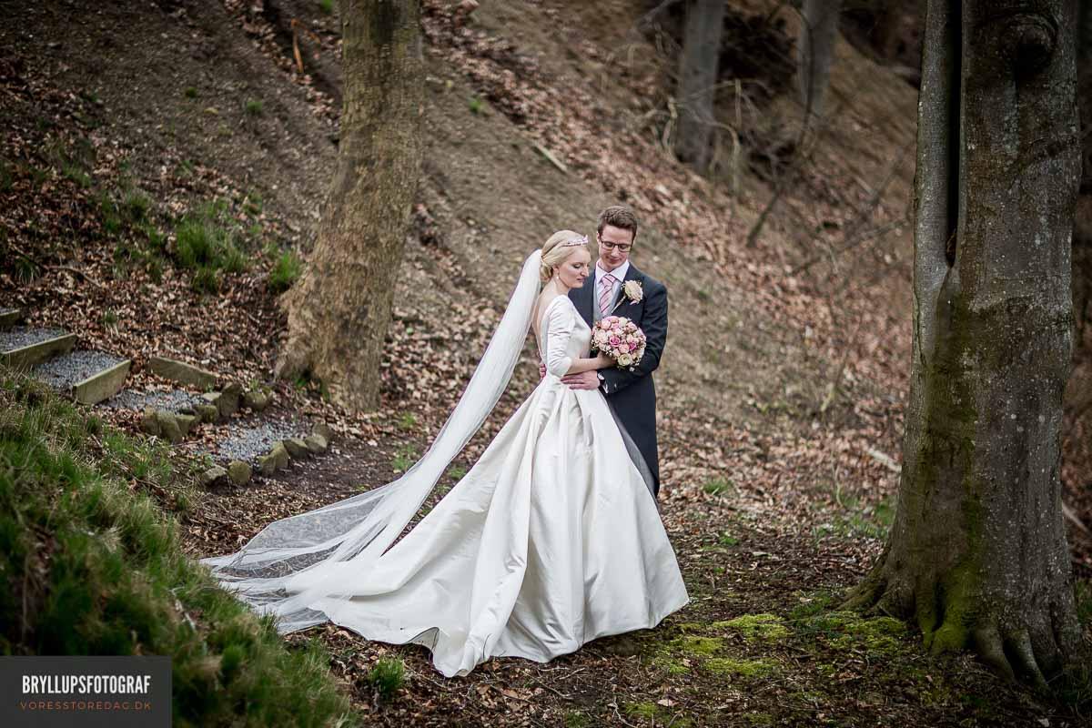 smukke og personlige bryllupsbilleder fra den store dag