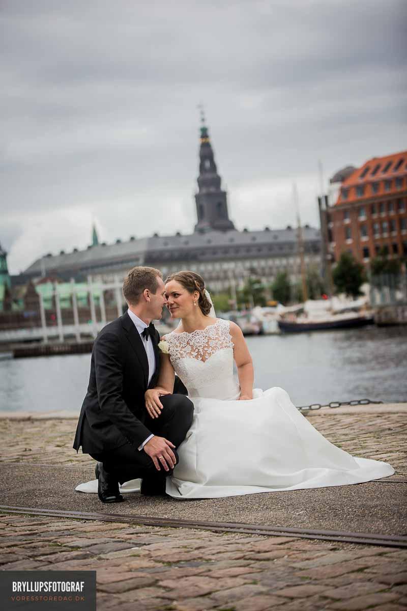 vielse på københavns rådhus