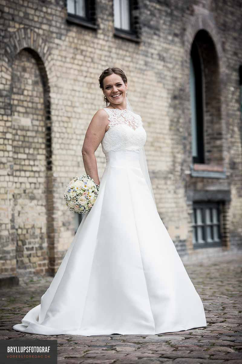 professionel bryllupsfotografering i Jylland