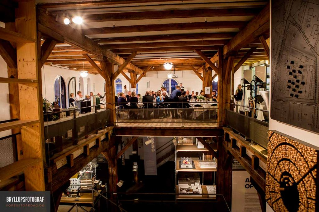 Dansk Arkitektur Center bryllup