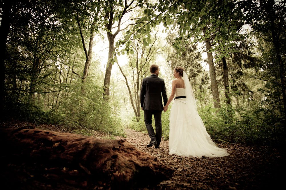 Fotografering af bryllup i Viborg