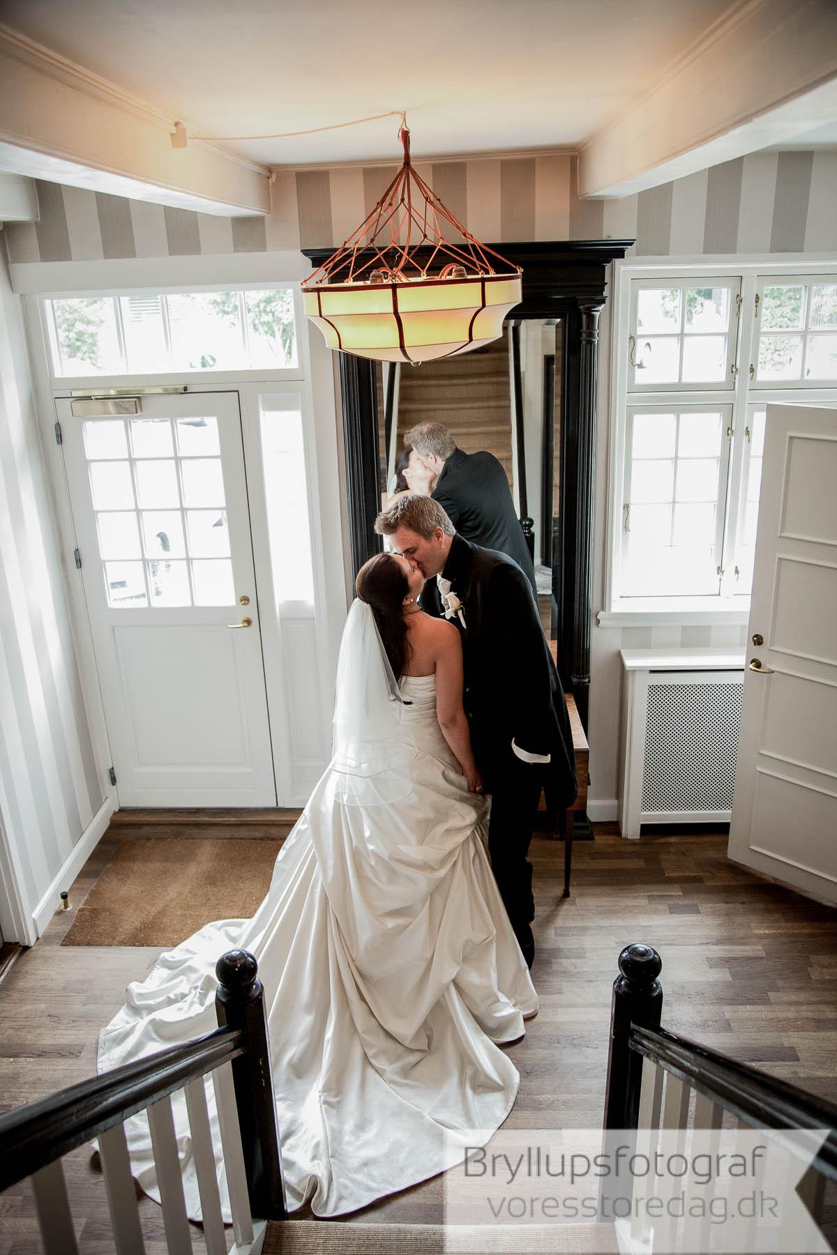 brudepar Helenekilde badehotel