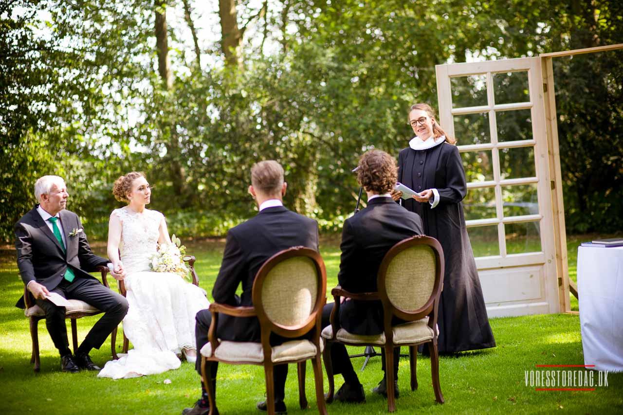 Hold Bryllup på Hotel Amerika | Tæt på Skov, Vand & Natur