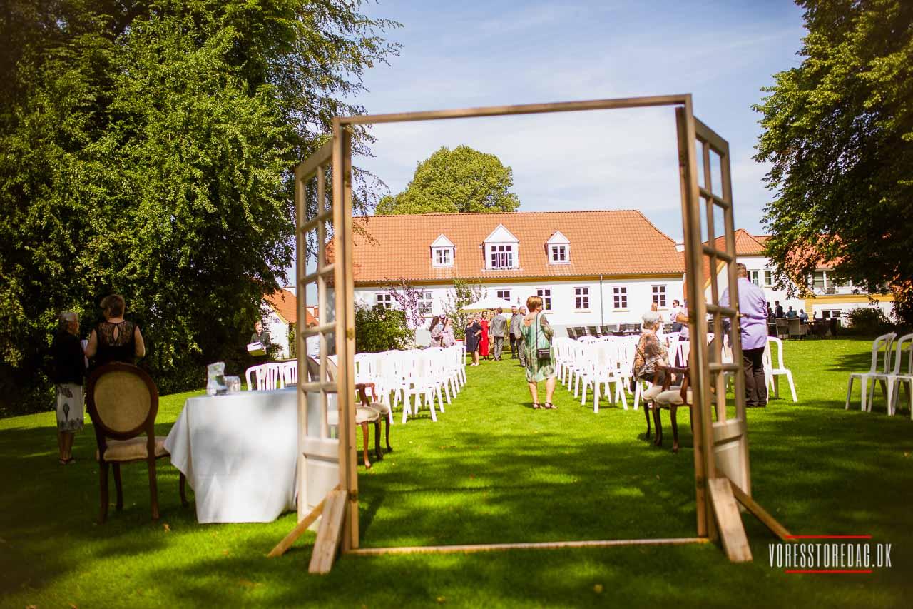 Perfekt til bryllup - Anmeldelse af Hotel BramslevGaard