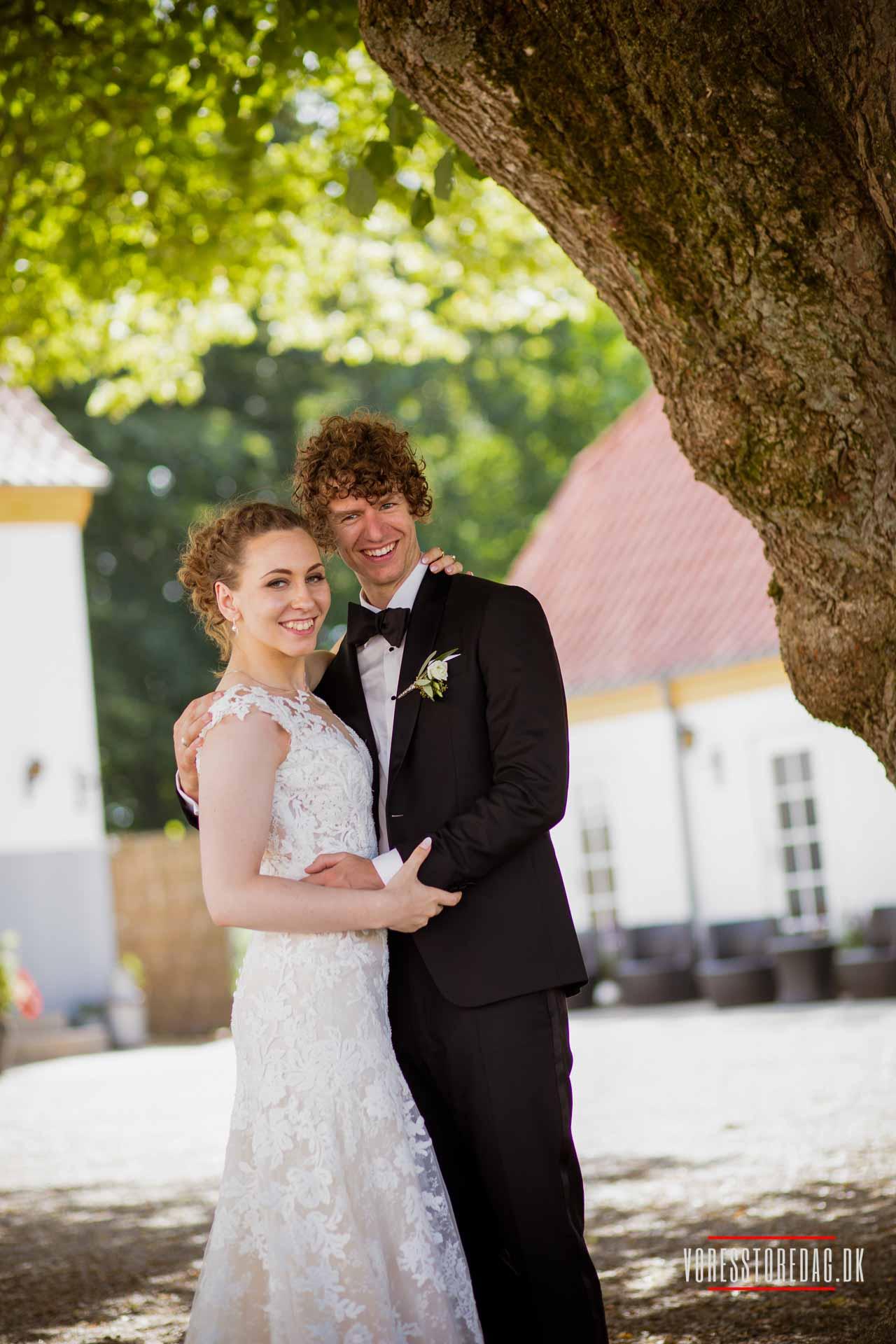 Bryllupskørsel i Nordjylland
