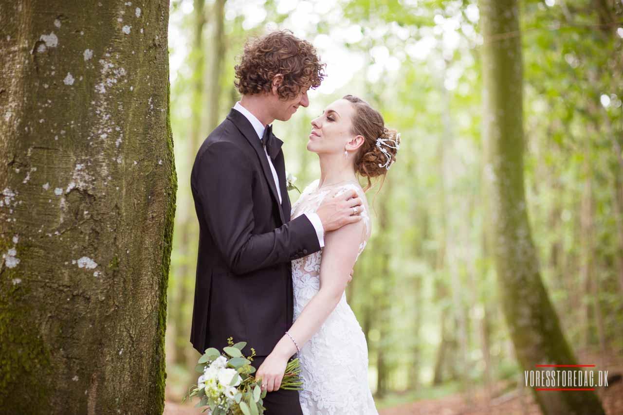Bryllup Dronninglund i Nordjylland - Fotograf bryllup