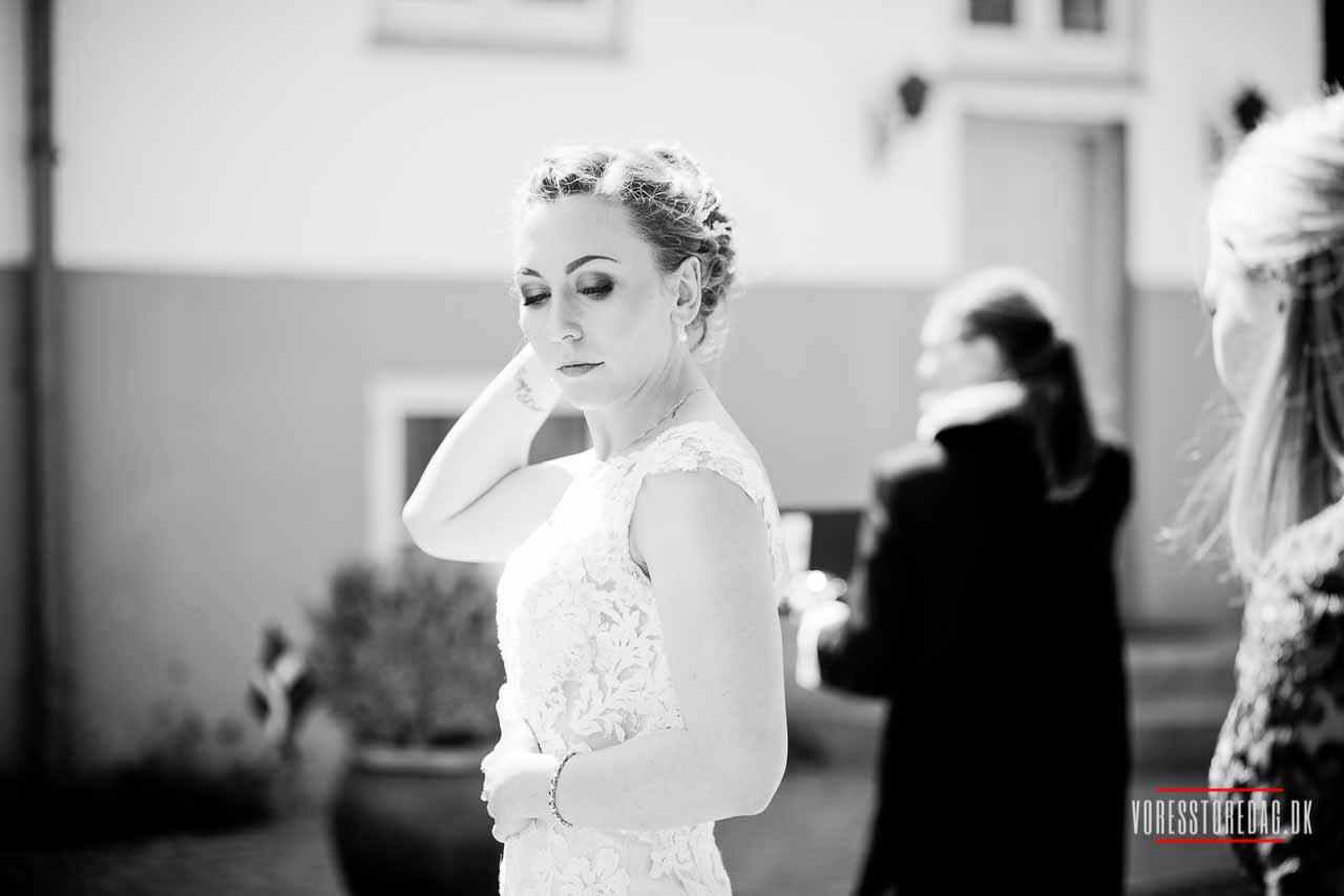 Hotel Bramslevgård bryllup - Bryllupsfotograf