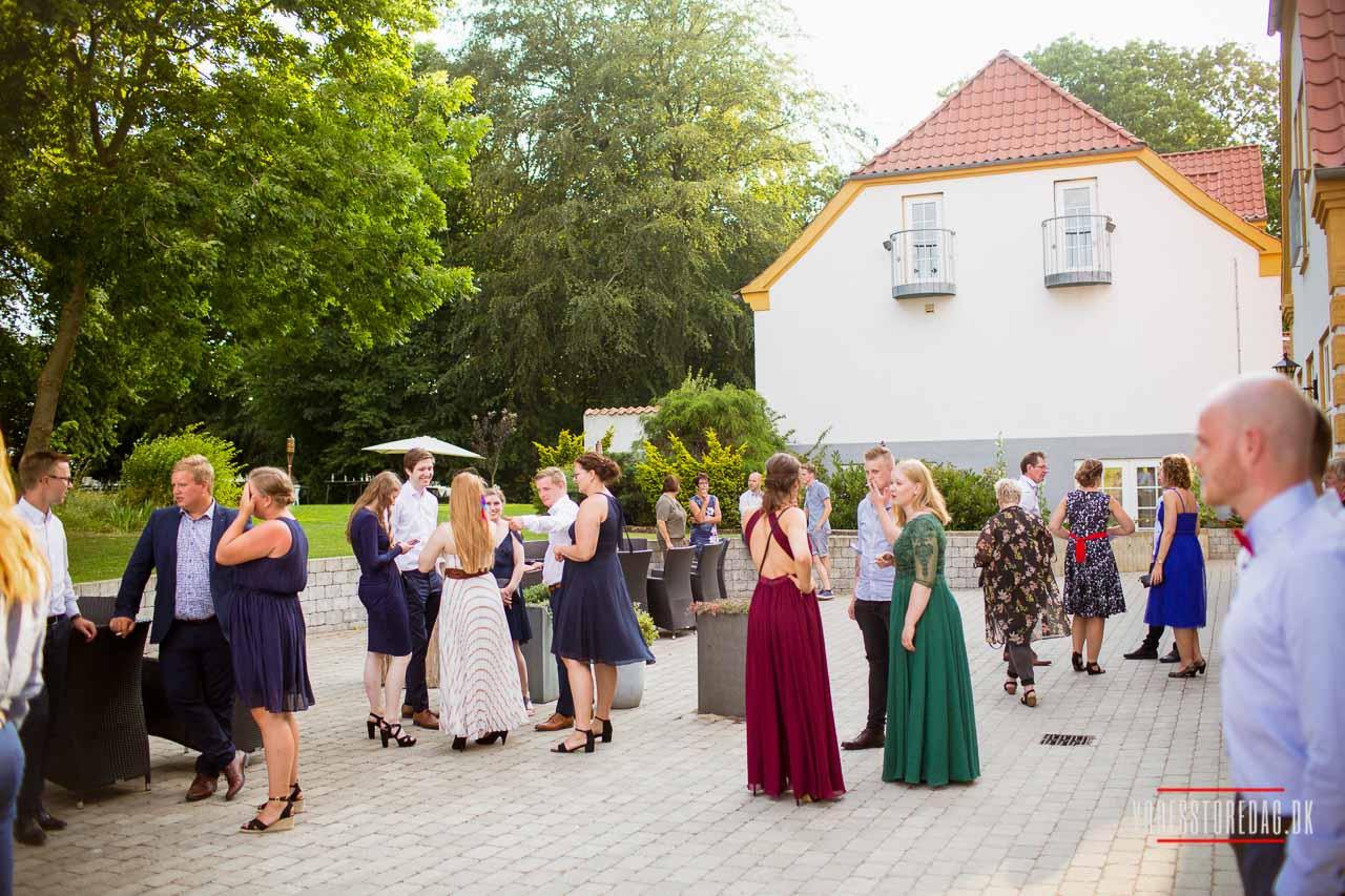 Så gik turen denne gang til Nordjylland og det hyggelige Hotel Bramslevgaard bryllup