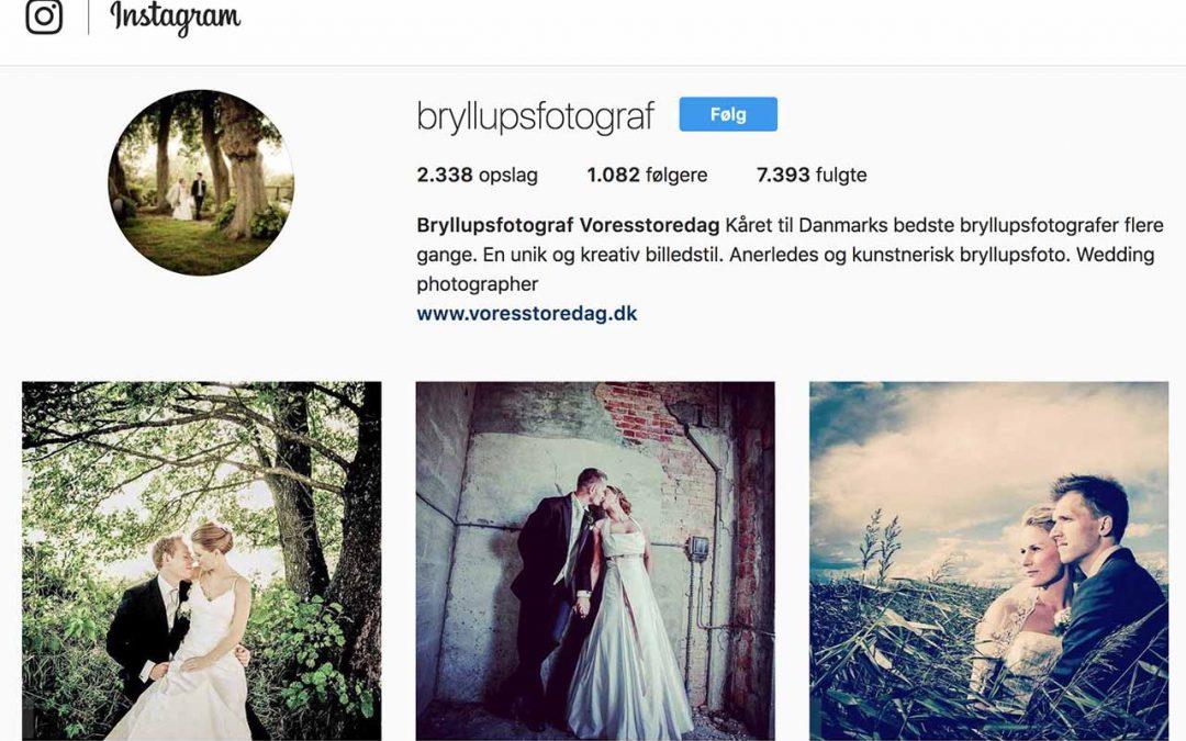 Fotograf Vores Store Dag på Instagram