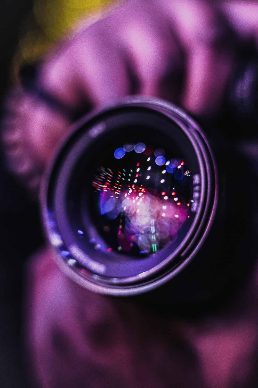 kamera og objektiver