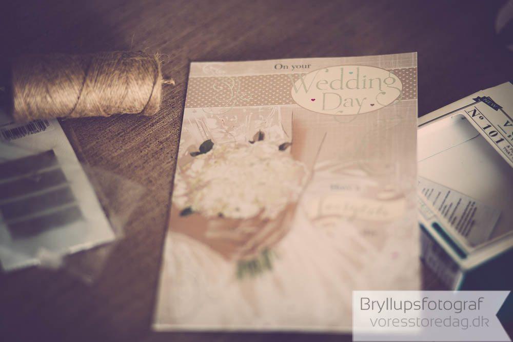 Vielse i Stavnsholtkirken i Farum og bryllupsfest på Ellegården